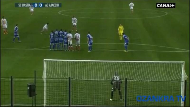 Mickaël Landreau 2012-2013 saison pour Sporting Club de Bastia super arrets! _ 720p HD