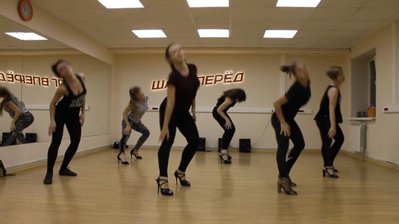 Шаг вперед. Гоу-гоу (high heels). Дарья Колесова