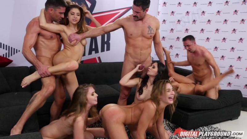 Nina North, Cassidy Klein, Lena Paul, Blair Williams, Adriana Chechik, Aria