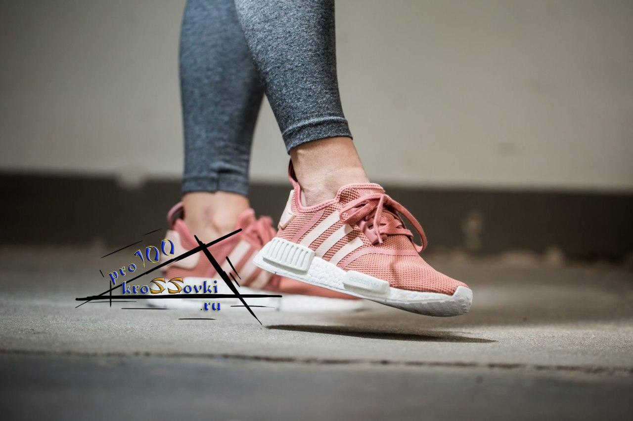 женские розовые кроссовки Adidas