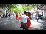 Lisandra y Geonys - Salsa en Paseo del Prado