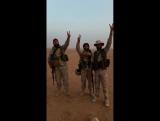 Батальон Хезболлы в на сирийско-иракской границе, в провинции Дейр эз-Зор