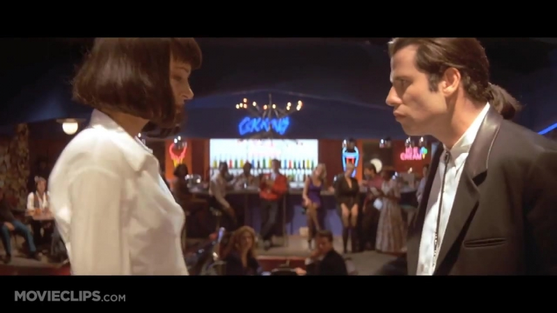 Dancing at Jack Rabbit Slims - Pulp Fiction (512) Movie CLIP (1994) HD