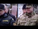 Видео с нетрезвым Порошенко в камуфляже появилось в Сети