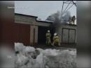 Два крупных пожара за выходные сгорели ритуальный зал и автомобиль Нива