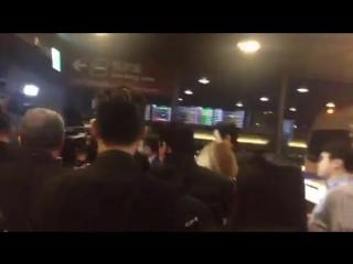 Hani arrived at Taiwan Airport