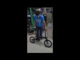 распакрва велосипеда xiaomi