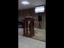 Проповедь перед молитвой ( личные отношения с Богом)