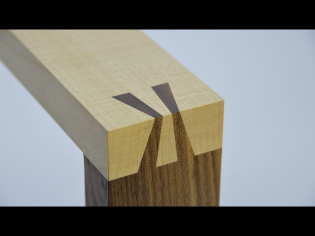 How to make a Japanese dovetail joint By Theo Cook Tutor at Robinson House Studio School