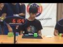 王楷文(Kai-wen Wang) 3x3 6.51s Official Average WR4!