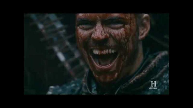 Vikings S05E03 - You can't kill me! I am Ivar the boneless! Scene HD