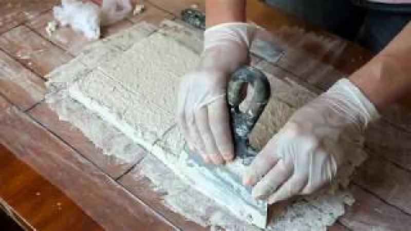 Плитка из гипса своими руками в домашних 66