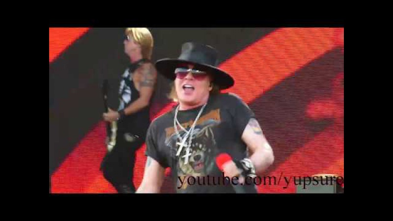 Guns N' Roses Chinese Democracy Live HD Hersheypark Stadium