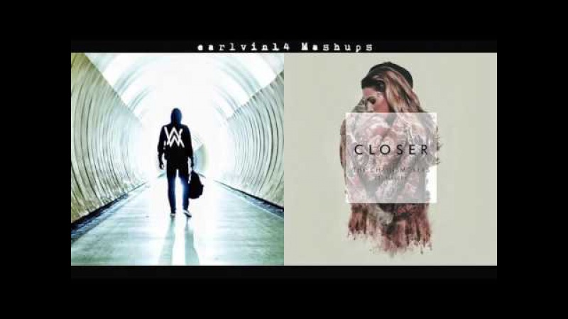 當Faded與Closer兩首神曲混在一起!Alan walker-faded vs. The Chainsmokers - Closer (earlvin14 mashup)