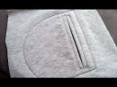 DIY How to sew a pocket Sewing course Jak uszyc kieszeń do bluzy lub spodni kurs szycia