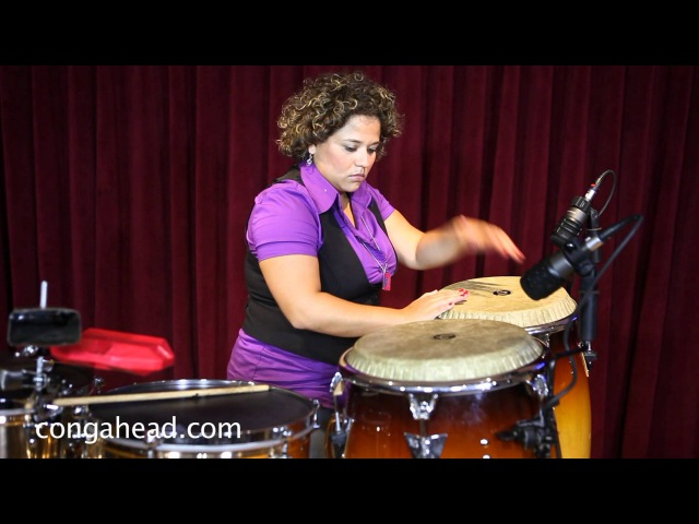 Percussionist Martha Paredes performs solo for