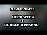 NEW EVENT! HERO WEEK + DOUBLE WEEKEND EVENT IN TWD NO MAN'S LAND