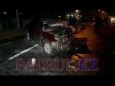 Водитель в Алматы пошел на обгон и устроил ДТП со смертельным исходом. ВИДЕО