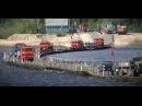 Полиция Ямала хватает людей на переправе через Пур и принудительно дактилоскоп