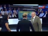 Жириновский жестко и грубо заткнул гостью с Украины