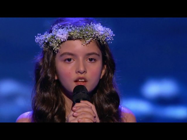 Angelina Jordan singing Fly Me to the Moon at Little Big Shots US