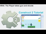 #044. The Player takes gun and shoots  Construct 2