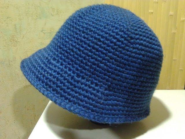 Шляпка крючком. Crochet cap. Amigurumi. Crochet. Амигуруми. Одежда крючком.