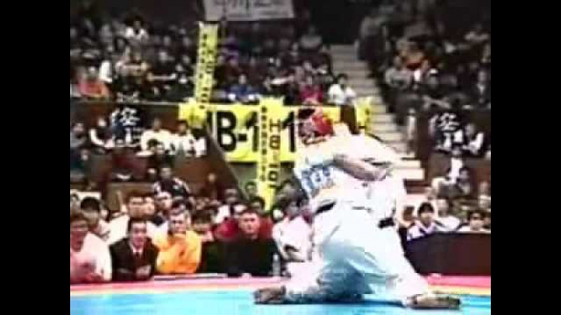 Stephen Tapilatu Daido Juku WC 2001 Final