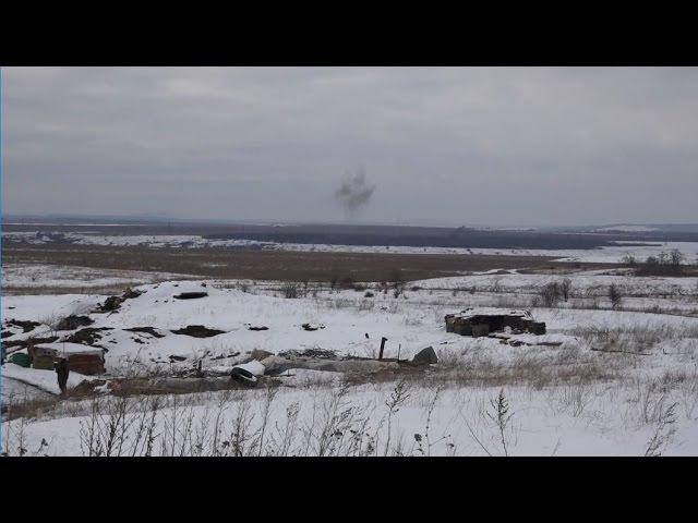 24 января 2017 Первый замглавы СММ ОБСЕ Хуг зафиксировал обстрелы ВСУ позиций НМ ЛНР под Дебальцево