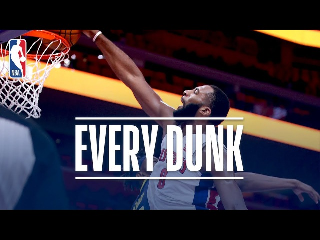 Andre Drummond Aron Baynes and Every Dunk From Wednesday Night November 8 2017 смотреть онлайн без регистрации