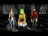 MMD Code Geass Six Trillion Years and Overnight Story - C.C, Lelouch &amp Suzaku