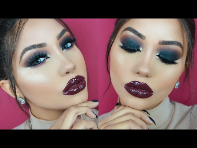 BOLD VAMPY NIGHT OUT MAKEUP TUTORIAL | Melly Sanchez