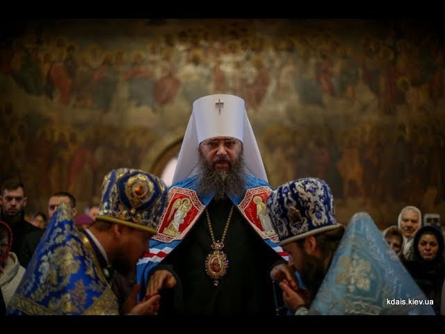 Введення у храм Пресвятої Богородиці. Літургія у кафедральному соборі Борисполя