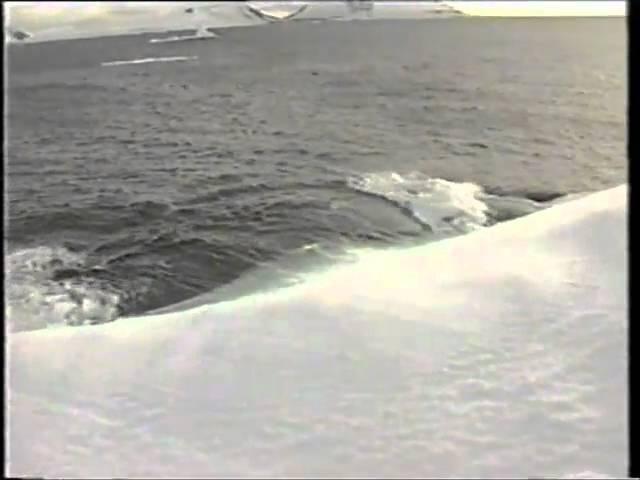Подвинул айсберг, pushed the iceberg
