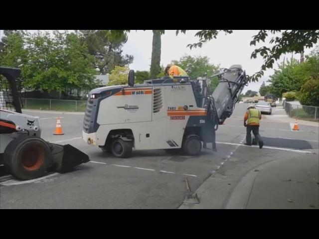 Срочный ремонт дороги спецтехникой