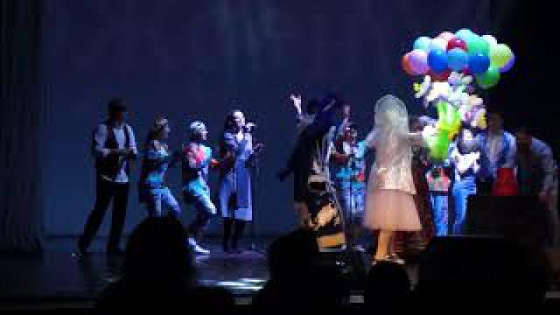 Поздравление Марины Девятовой С Днём Рождения в Петербурге .13.12.2017 г.
