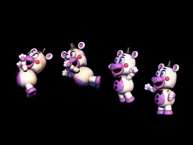 CuteTime Freddy Animations | FNAF 6 FFPS Helpy