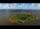 Полет из форта Константин до форта Павел I на коптере. Изумительные места Финского залива