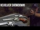 Revolver Showdown! Colt Python vs. S W L frame vs. Ruger Speed Six| Jerry Miculek