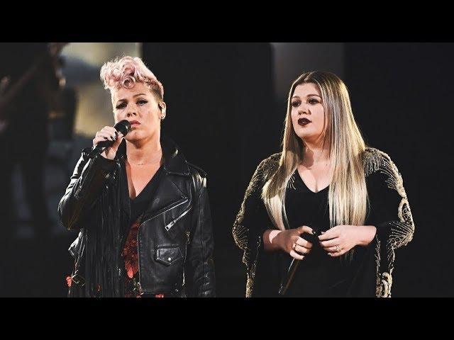 Kelly Clarkson P!nk