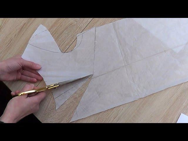 Моделируем выкройку для сарафана