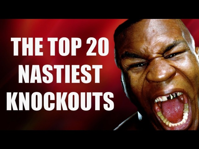 TOP 20 NASTIEST KNOCKOUTS IN BOXING HISTORY