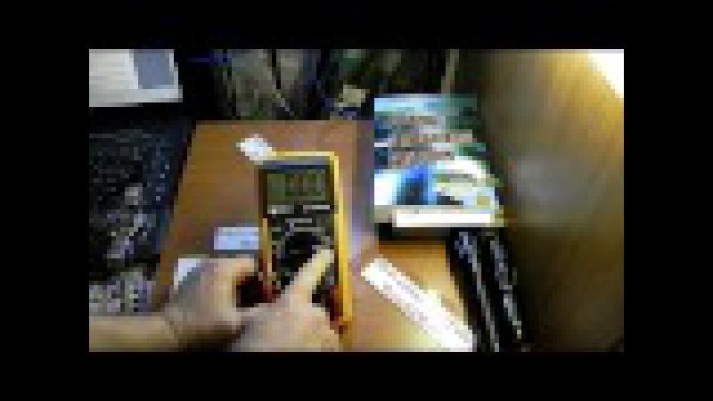 как пользоваться мультиметром тестером при измерении постоянного и переменног ...