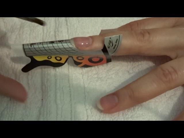 Как наращивать ногти гелем? Легко!