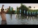 Ловушка Рыболовной Техники - Умный Человек, Ловящий Рыбу С Бутылкой   Ловушка С Несколькими Узлами