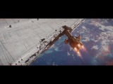Rogue One Hammerhead Corvette Attack - with music by John Williams