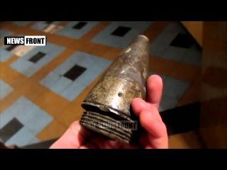 30 января 2015. Донецк. Доказательство того, что НАТО поставляет Украине летальное оружие