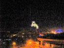 5 февраля 2015. Донецк. 05.02.2015 0:03 Вид с золотого кольца 2 - артобстрел фосфрными снарядами