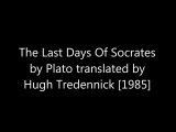 a review of last days of socrates Plato's the apology is an account of the speech socrates makes at the trial in which he is charged with not recognizing order last days of socrates at bncom.