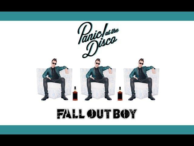 Пьяный Брендон Ури (Panic! At The Disco) рассказывает историю Fall Out Boy